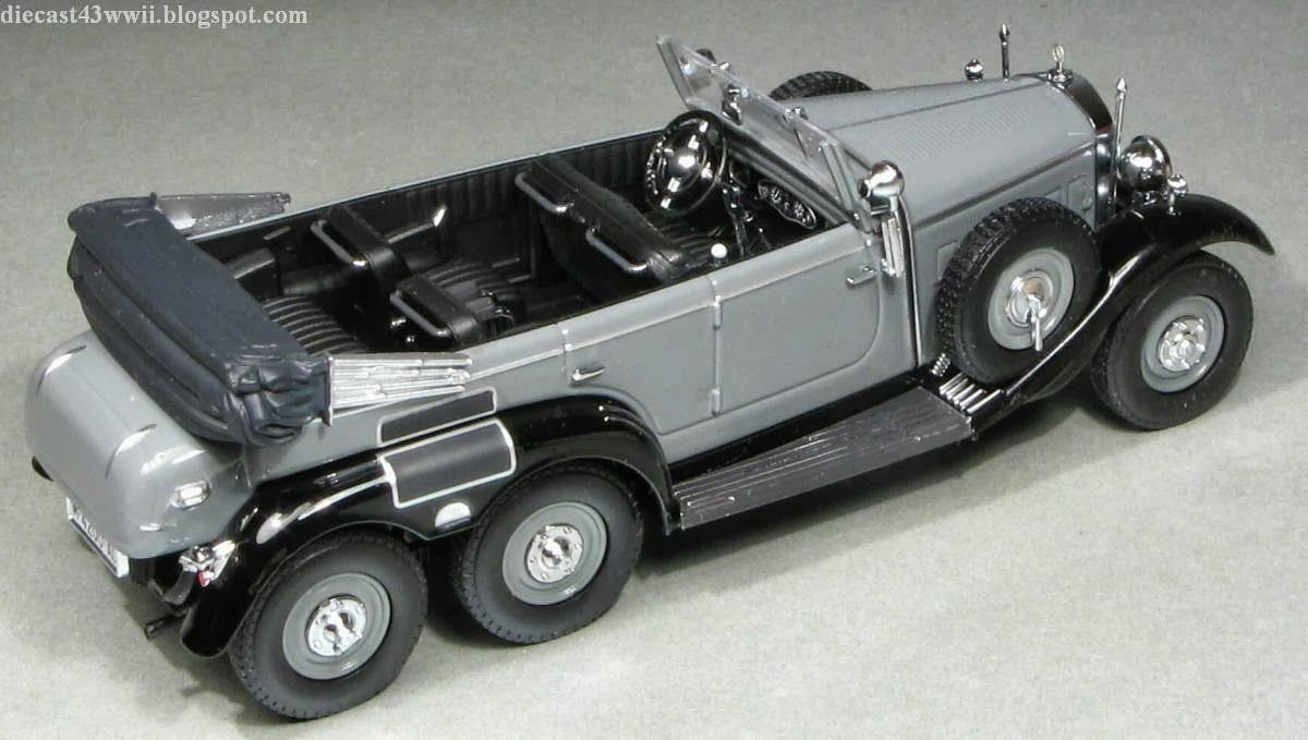 Military scale models mercedes benz g4 minichamps whitebox for Mercedes benz g4