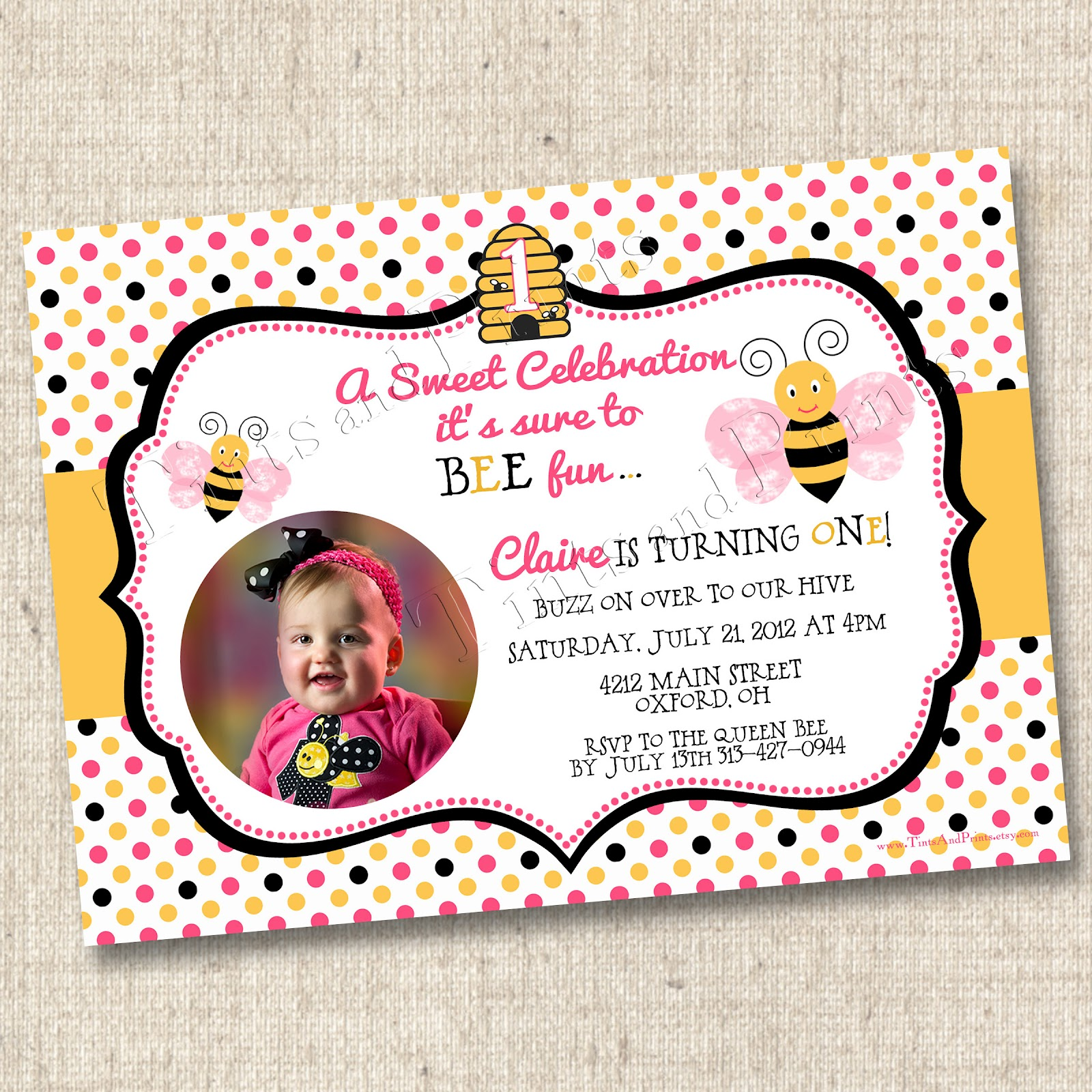 Custom Birthday Party Invitations gangcraftnet