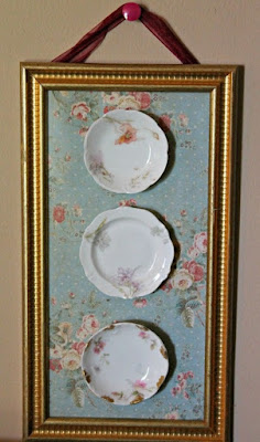 Plates collection wall
