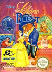 German DVD cover for Disney's Beauty and the Beast