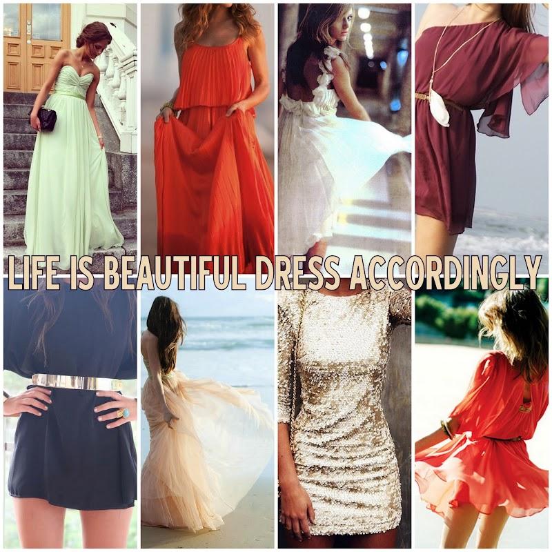 INSPIRATION   SUMMER DRESSES