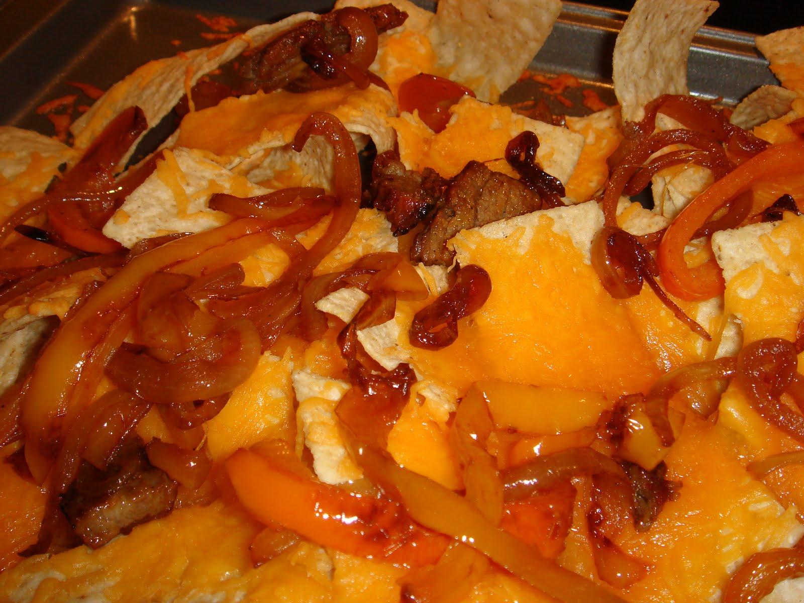 Whatcha Cookin?: Beef Fajita Nachos