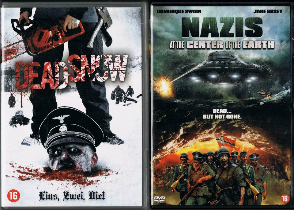 "B-GRADE TRASHZONE: ""DEAD SNOW"" (2009) + ""NAZIS AT THE ..."