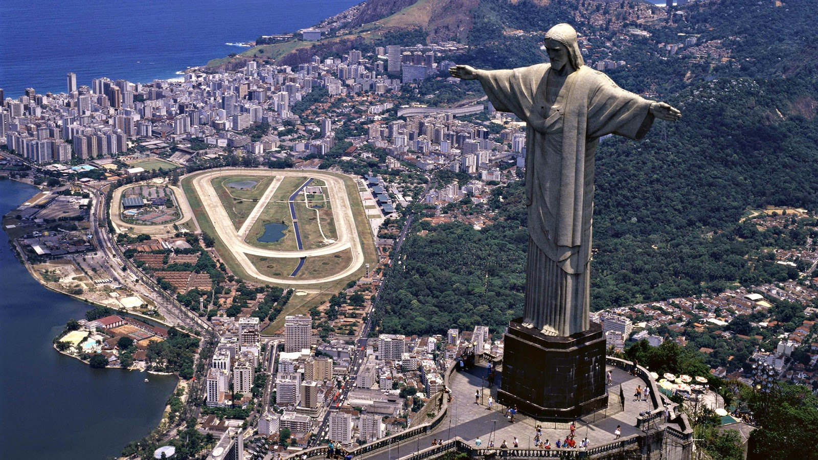 statue of jesus christ the redeemer background hd images