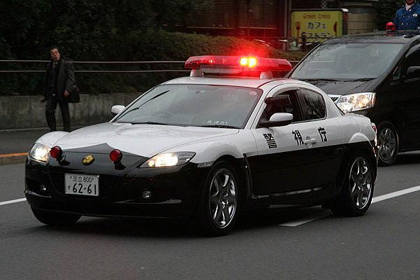 Mazda RX-8 police  警察 japoński policyjny samochód