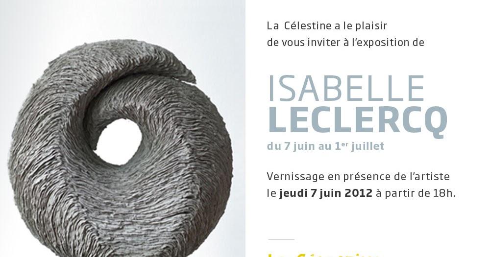 Passion ceramique isabelle leclercq galerie la c lestine - Isabelle leclercq ...