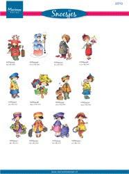 Een compleet overzicht van alle Snoesjes stempels