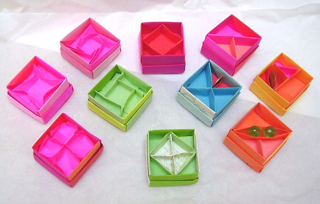 origami octagon box instructions