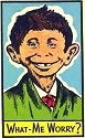 Glorious Leader: Alfred E. Newman.