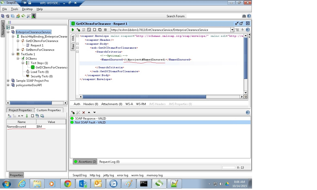 soa ibm integration technical articles soapui test automation