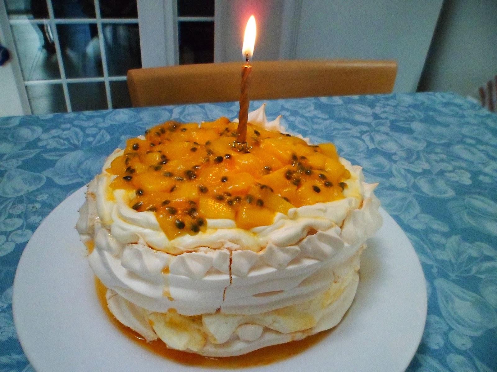 Birthday Pavlova For Mum Mango Passion Fruit Pavlova