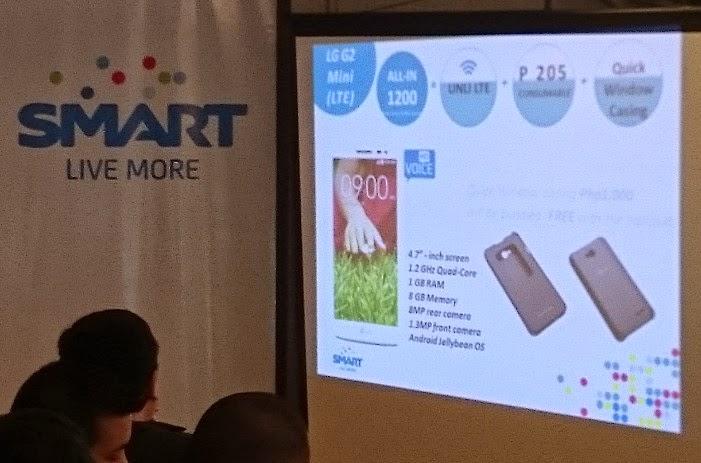 LG G2 Mini LTE, Smart LTE Speed Test Result, Smart LG G2 Mini LTE