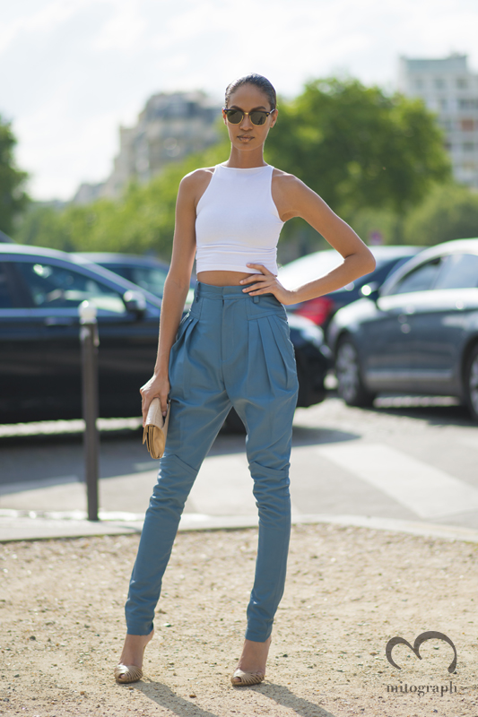 mitograph Joan Smalls After Christian Dior Paris Haute Couture Fashion Week 2013 Fall PFW Street Style Shimpei Mito