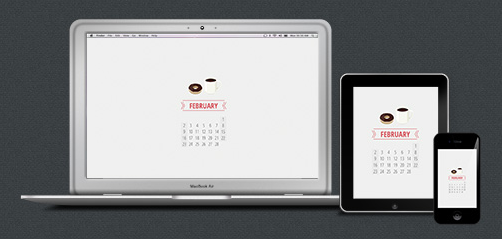 http://paper-leaf.com/blog/2014/01/february-2014-desktop-calendar-wallpaper/