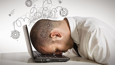 Derita si Blogger Newbie - Stress