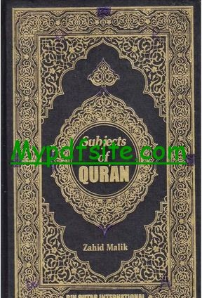 Subjects of Quran
