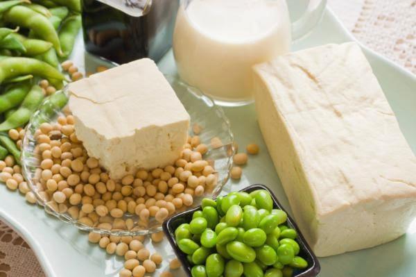 منتجات فول الصويا من الاغذية الغنية بالبروتين