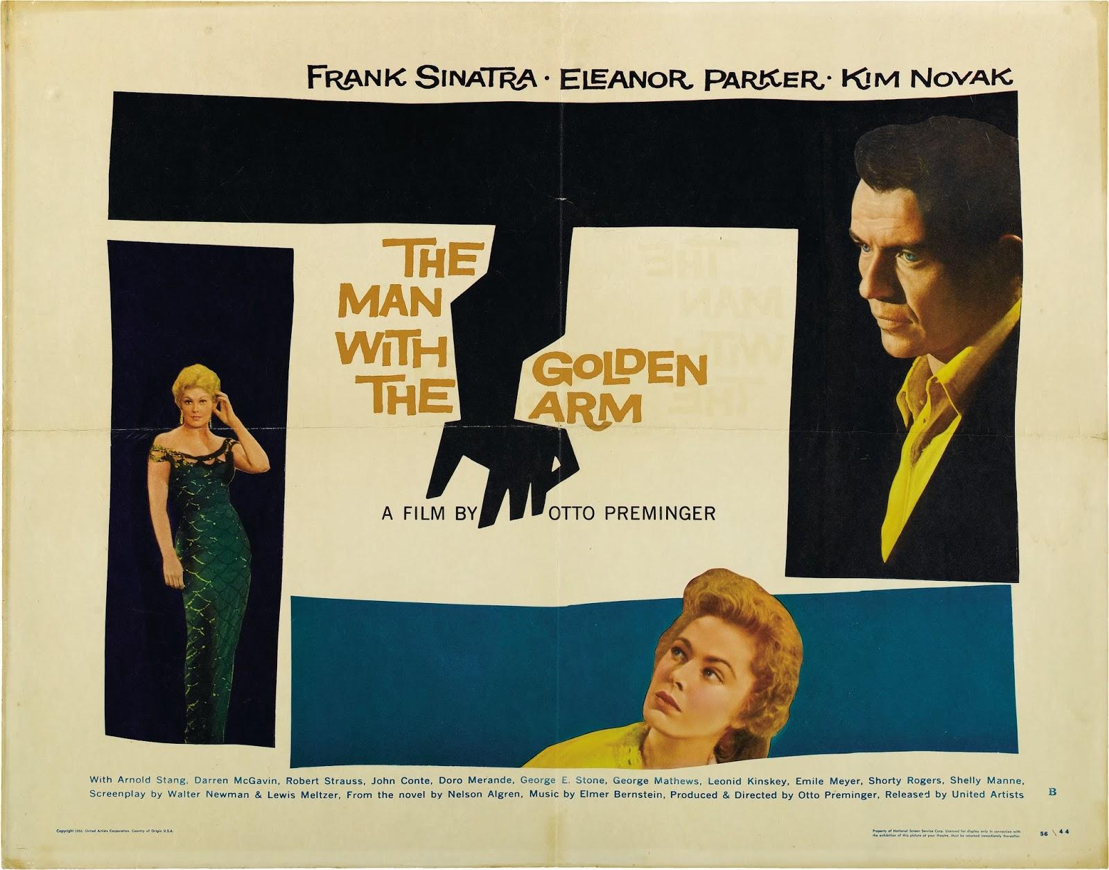 El hombre del brazo de oro - 1955 - Otto Preminger - Película completa online