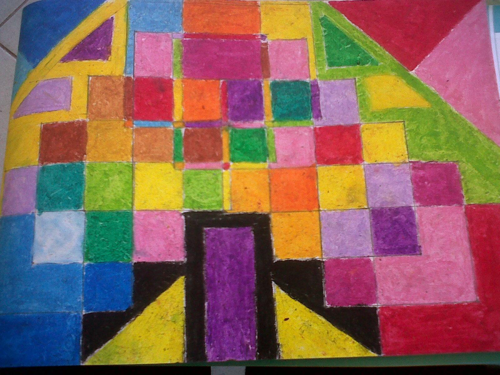 ini macam karya seni saya