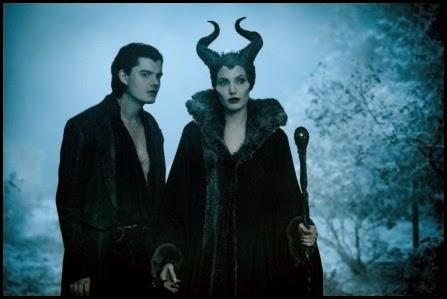 Sam Riley y Angelina Jolie en 'Maléfica' (2014)