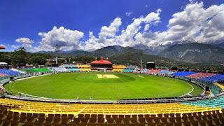India vs SA Game 1 T20 - Cricket stadium dharamshala