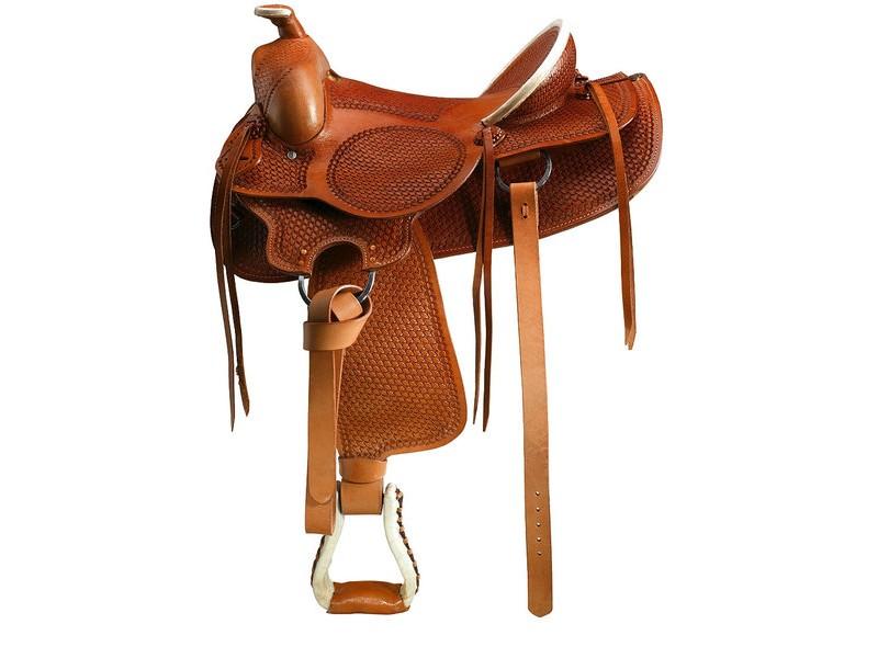 Los animales - Silla montar caballo ...