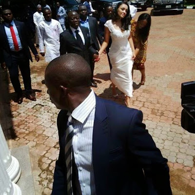 governor adams oshiomhole wedding