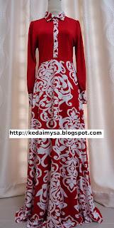 maxi-dress-murah-merah