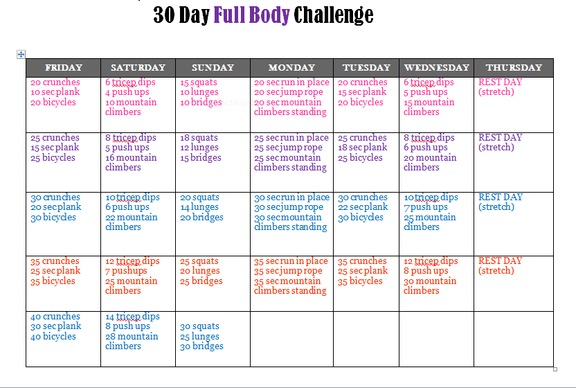 ... Life: Crystal Laiti: Join my FREE 30 Day Full Body Fitness Challenge