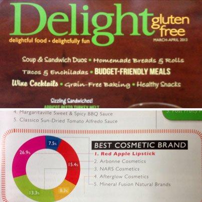 Best Gluten Free Cosmetics Brand