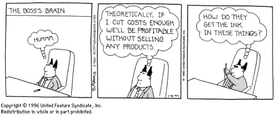 Does sales matter