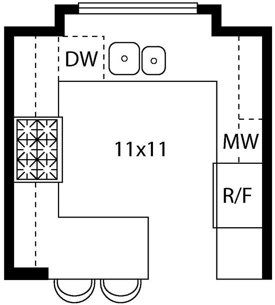 Kitchen Layout Sketch: Blog De Decoração: Diversos Formatos De