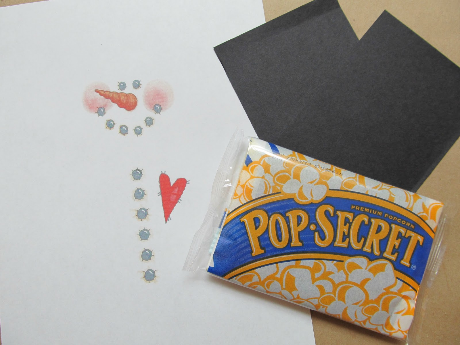 Just cut the paper to size and tape it all together. Super easy and a ...