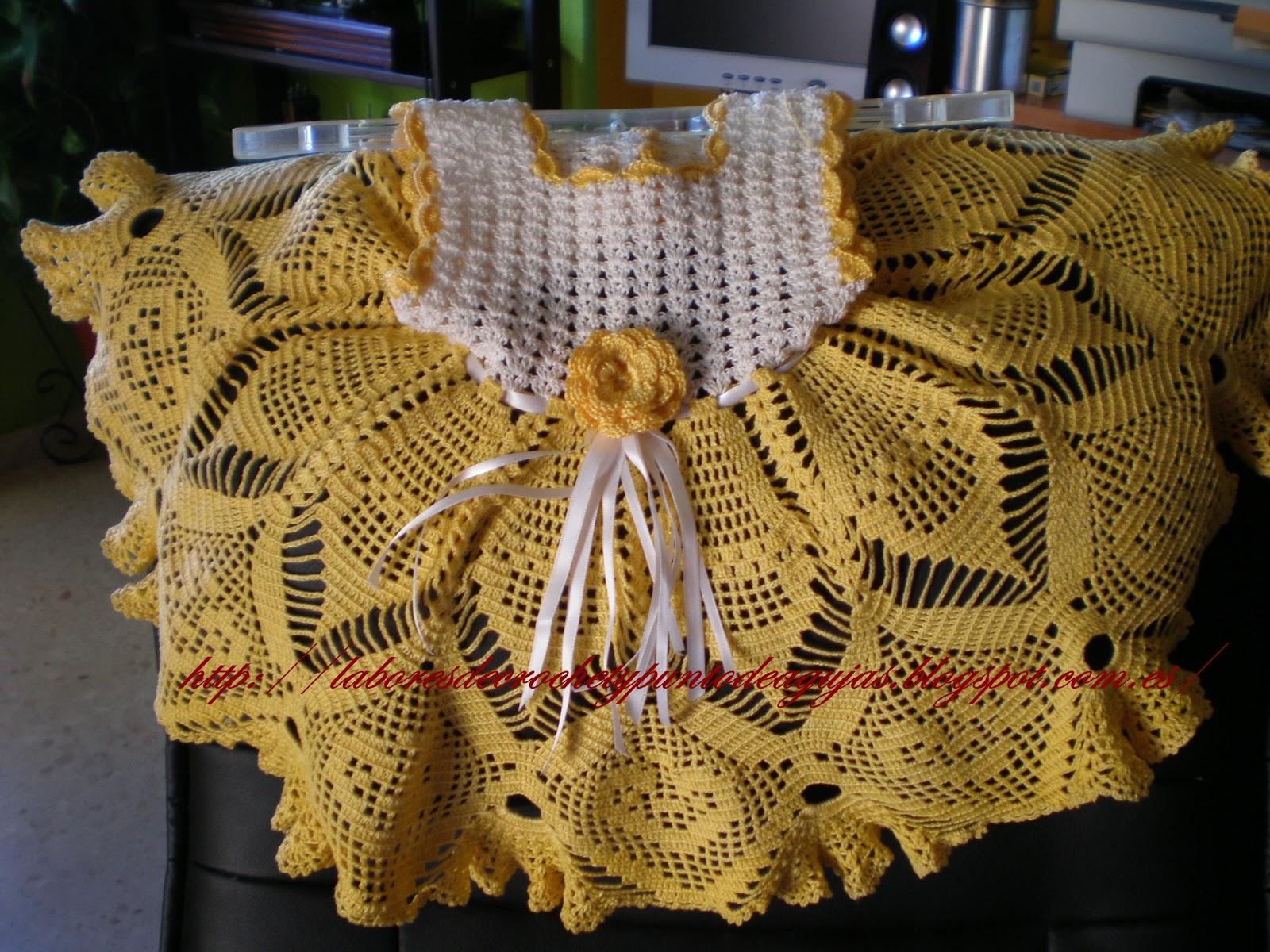 Use Crocheting In A Sentence : Vestidos Nia De Crochet De 6 A 12 Y 24 Meses MEJOR CONJUNTO DE ...