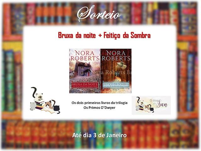 Sorteio Nora Roberts