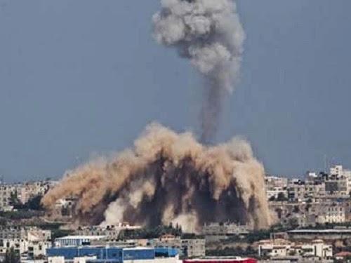 ledakan besar di Gaza (inilah.com)