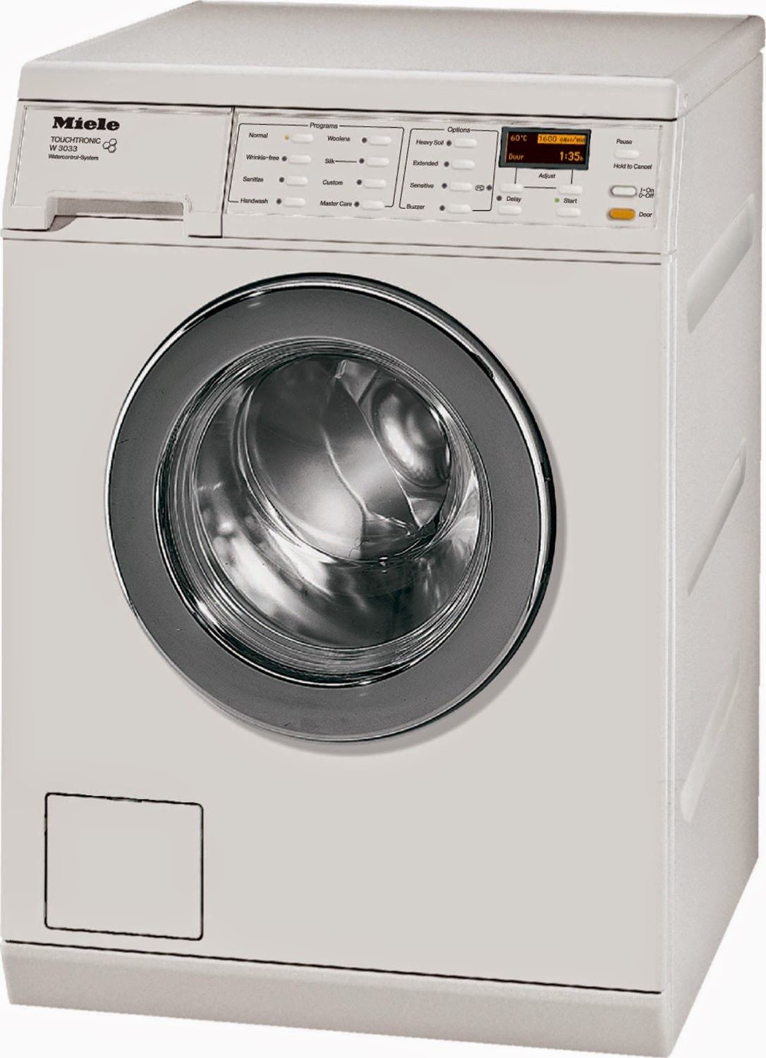 Miele stackable washer dryer ventless - W3033 24 Front Load Washer White Miele Compact Washer Dryer