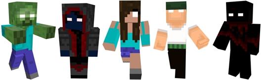 Minecraft Spielen Deutsch Skins Para Minecraft Pe De Herobrine Bild - Skins fur minecraft herobrine