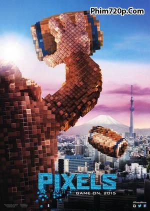 Pixels 2015 poster