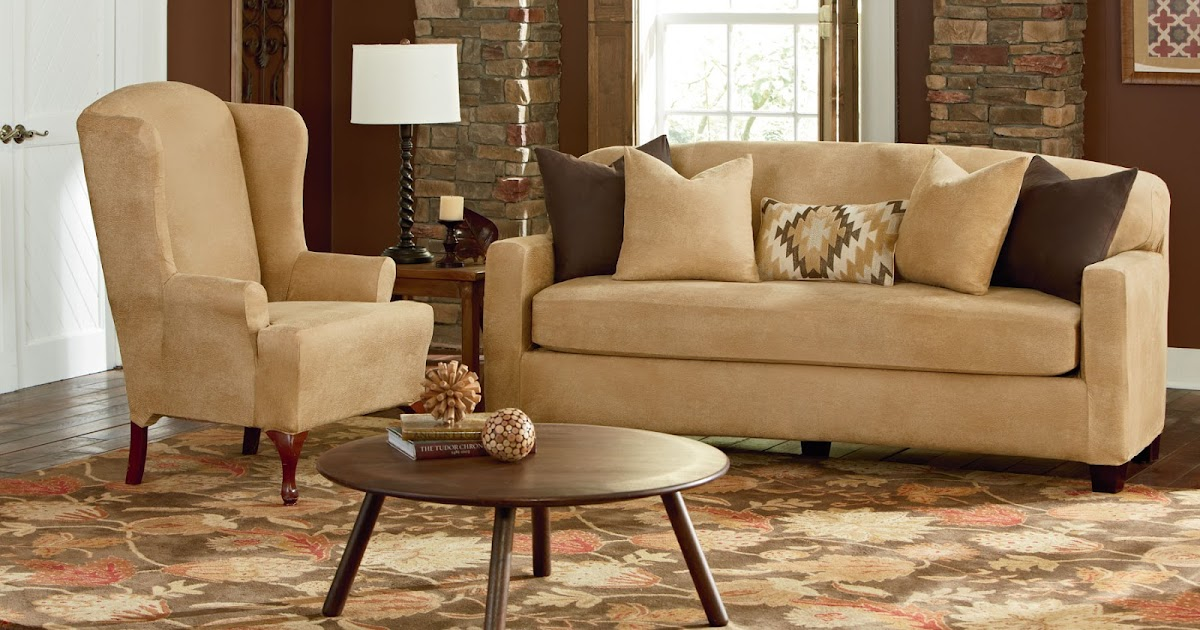 Sure Fit Slipcovers: New Arrival, New Color: Stretch ...
