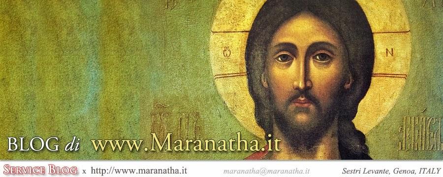 BLOG di www.maranatha.it