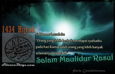 SALAM MAULIDUR RASUL 1434H / 2013M