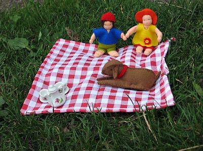 Antroposofische zomerpicknick seizoentafel Atelier de Vier Jaargetijden