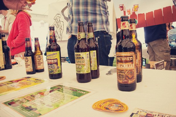 Schmaltz brewing at the 2014 East Nashville Beer festival