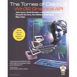 Tomes of Delphi 3 Win32 Graphical Api Cover