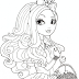 Ever After High Applewhite Coloring Pages