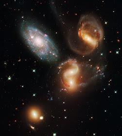 Stephen's Quintet c/o Hubble