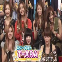 Video T-Ara di Acara STAR☆DRAFT (Japanese TV Show)