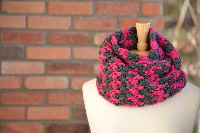free crochet pattern effortless cowl