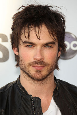 Ian Somerhalder in scruffy beard